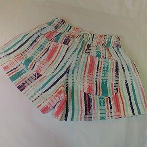 Roxy Shorts - ROXY beach bum boho elastic waist gauzy shor